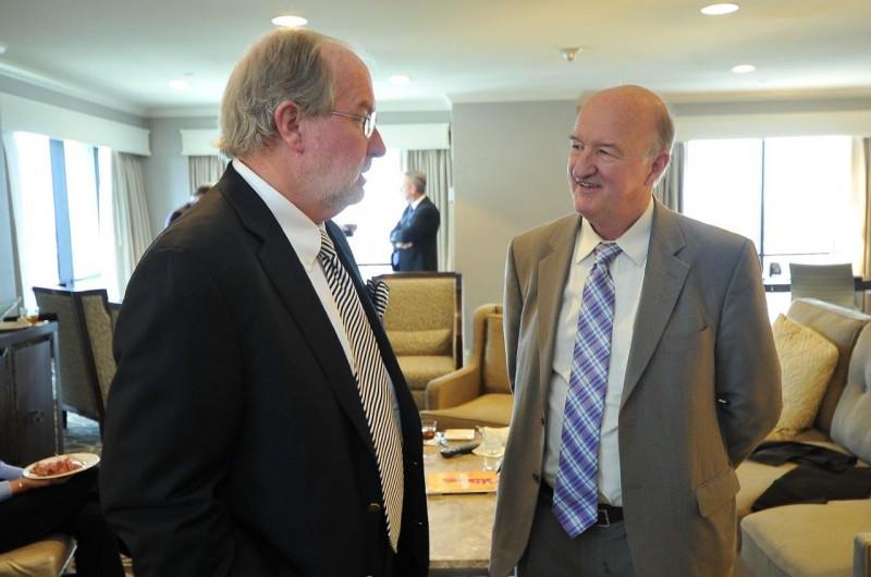 Dennis Gartman and Dr. Skousen